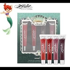 Sephora Disney Ariel lip gloss (set of four)
